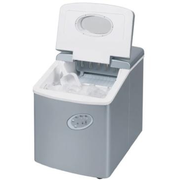 Eiswürfelmaschine - Eismaschine - Eismaschine für die Arbeitsplatte - Neues kompaktes Modell - Kein Wasseranschluss erforderlich - 15kg Eis in 24 Stunden -