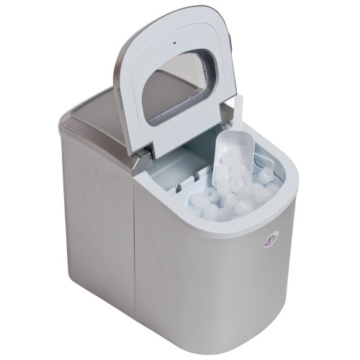 TecTake Eiswürfelmaschine silber -
